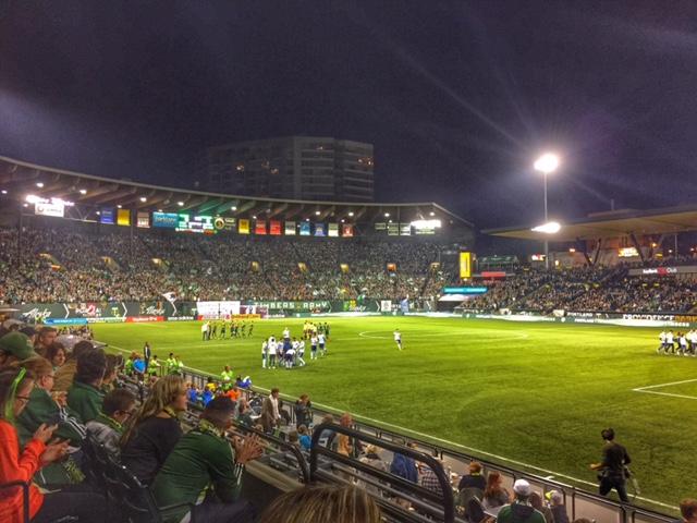 Portland game soccer