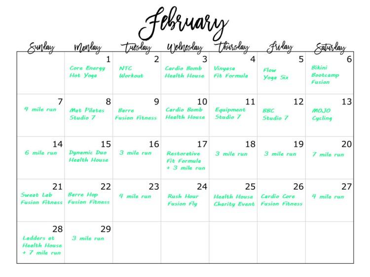 February Cal